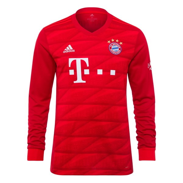 Camiseta Bayern Munich 1ª Kit ML 2019 2020 Rojo