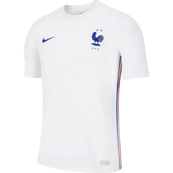 Camiseta Francia 2ª Kit 2020 Blanco