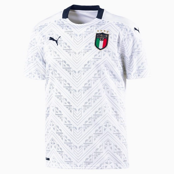Camiseta Italia 2ª Kit 2020 Blanco