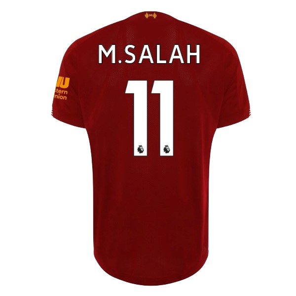 Camiseta Liverpool NO.11 M.Salah 1ª Kit 2019 2020 Rojo