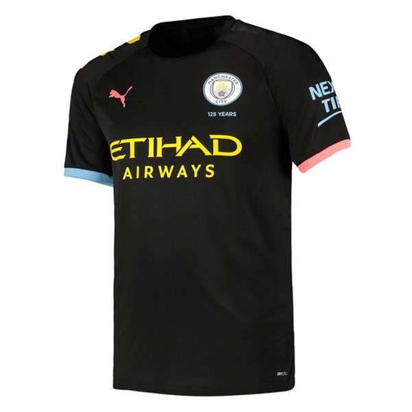 Camiseta Manchester City 2ª Kit 2019 2020 Azul