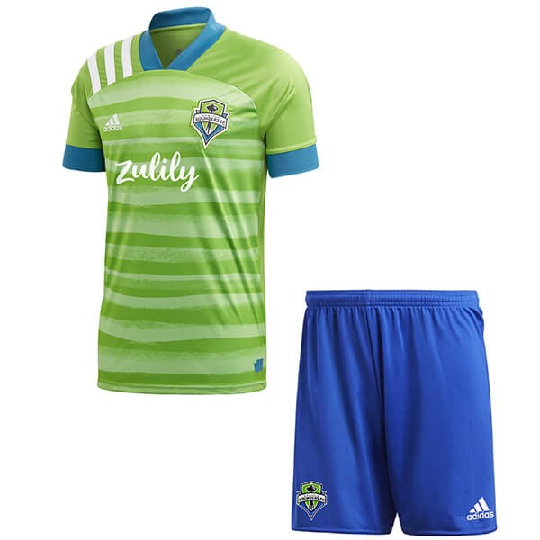 Camiseta Seattle Sounders 1ª Kit Niño 2020 2021 Verde