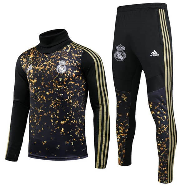 Chandal Real Madrid 2019 2020 Oro Negro
