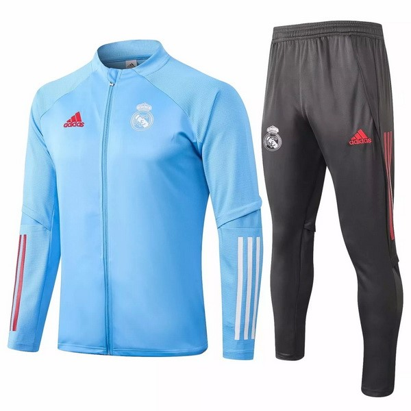 Chandal Real Madrid 2020 2021 Gris Azul Claro