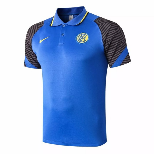 Polo Inter Milan 2020 2021 Azul