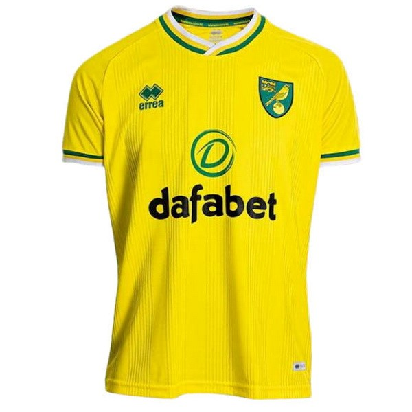Tailandia Camiseta Norwich City 1ª Kit 2020 2021 Amarillo
