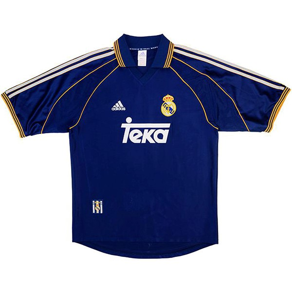 Tailandia Camiseta Real Madrid 3ª Kit Retro 1998 1999 Purpura