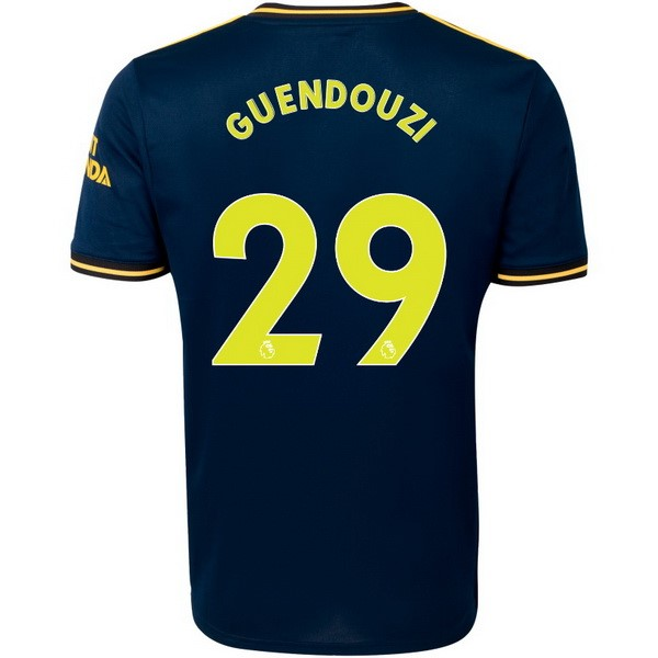 Camiseta Arsenal NO.29 Guendouzi 3ª Kit 2019 2020 Azul