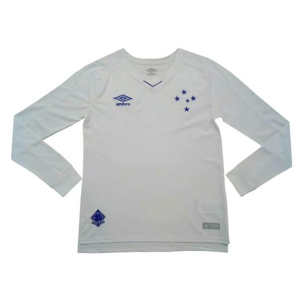 Camiseta Cruzeiro EC 2ª Kit ML 2019 2020 Blanco