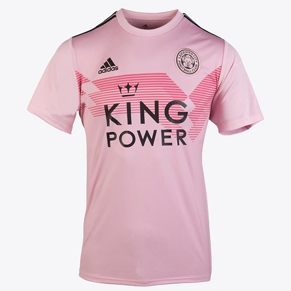 Camiseta Leicester City 2ª Kit Mujer 2019 2020 Rosa