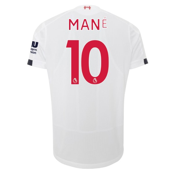 Camiseta Liverpool NO.10 Mane 2ª Kit 2019 2020 Blanco