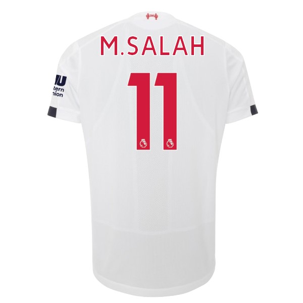 Camiseta Liverpool NO.11 M.Salah 2ª Kit 2019 2020 Blanco