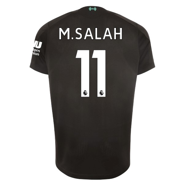 Camiseta Liverpool NO.11 M.Salah 3ª Kit 2019 2020 Negro