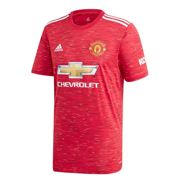 Camiseta Manchester United 1ª Kit 2020 2021 Rojo