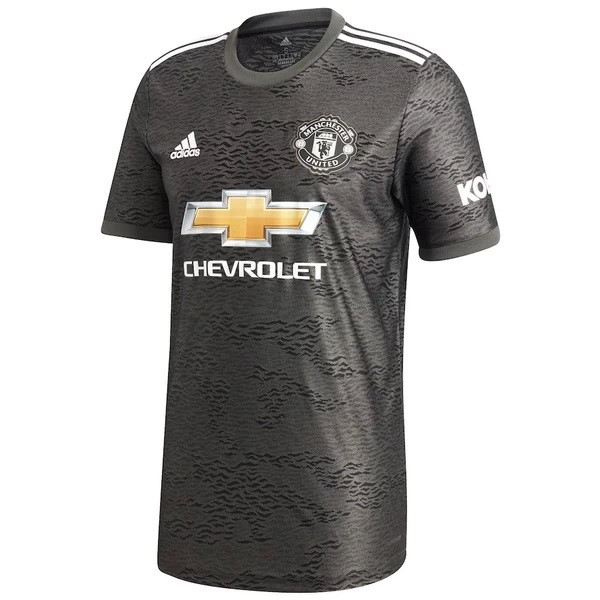 Camiseta Manchester United 2ª Kit 2020 2021 Negro