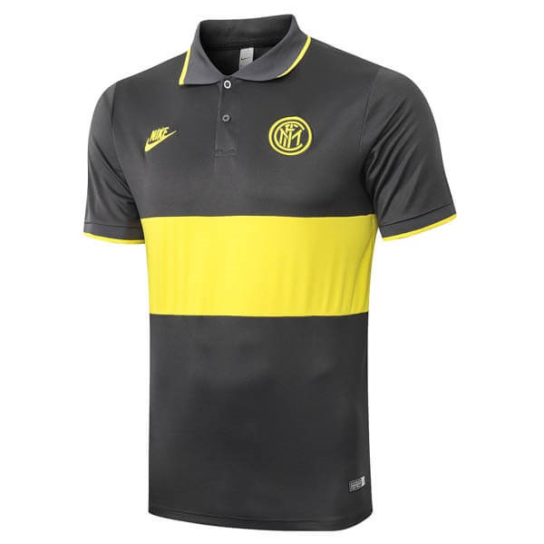 Polo Inter Milan 2019 2020 Amarillo Gris