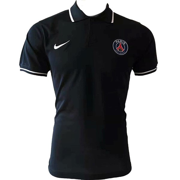 Polo Paris Saint Germain 2019 2020 Negro Blanco