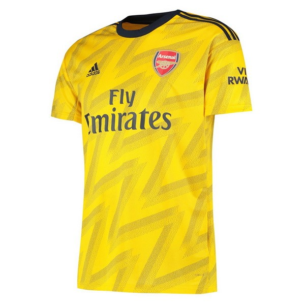 Tailandia Camiseta Arsenal 2ª Kit 2019 2020 Amarillo