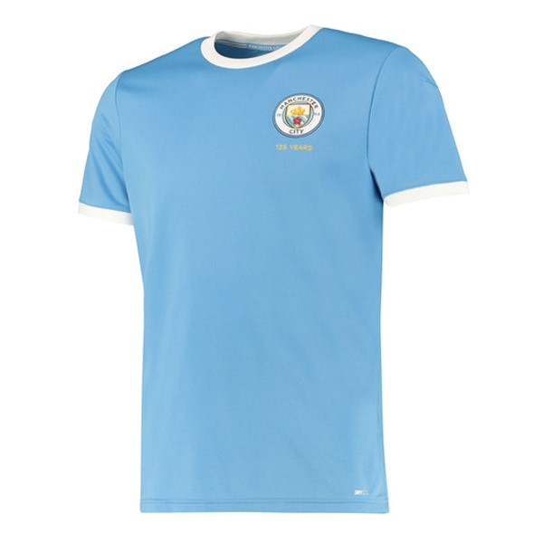 Tailandia Camiseta Manchester City 125th Azul Claro