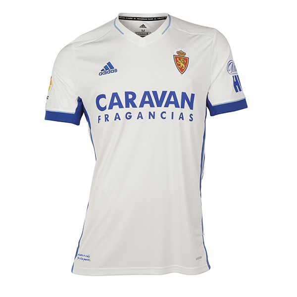 Tailandia Camiseta Real Zaragoza 1ª Kit 2020 2021 Blanco
