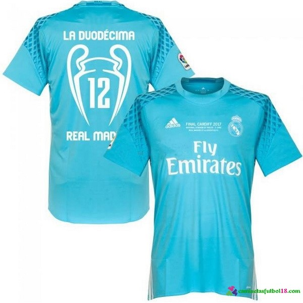 1ª Kit Portero Camiseta Real Madrid 12 Final Cardiff 2017