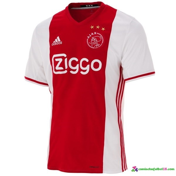 Camiseta 1ª Kit Ajax 2016 2017