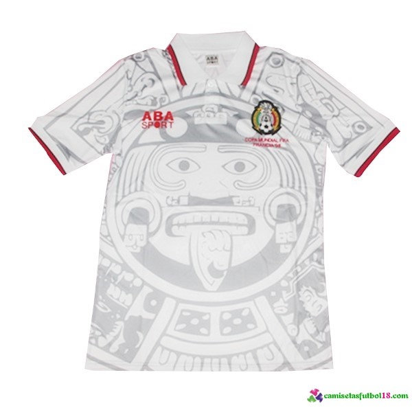 Camiseta 2ª Kit Mexico Retro 1998