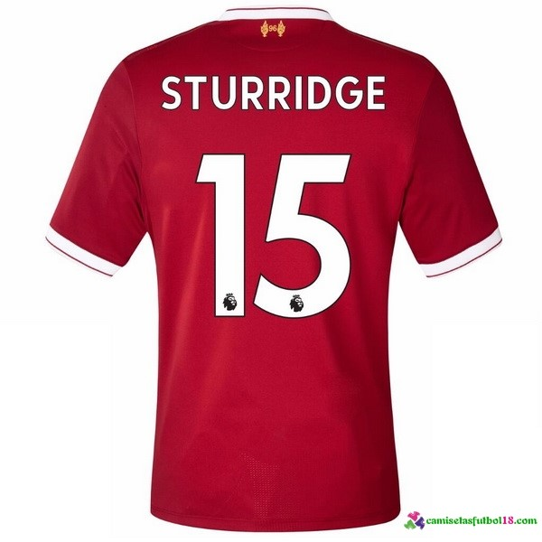 Sturridge Camiseta 1ª Kit Liverpool 2017 2018