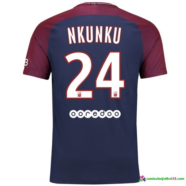 Nkunku Camiseta 1ª Kit Paris Saint Germain 2017 2018