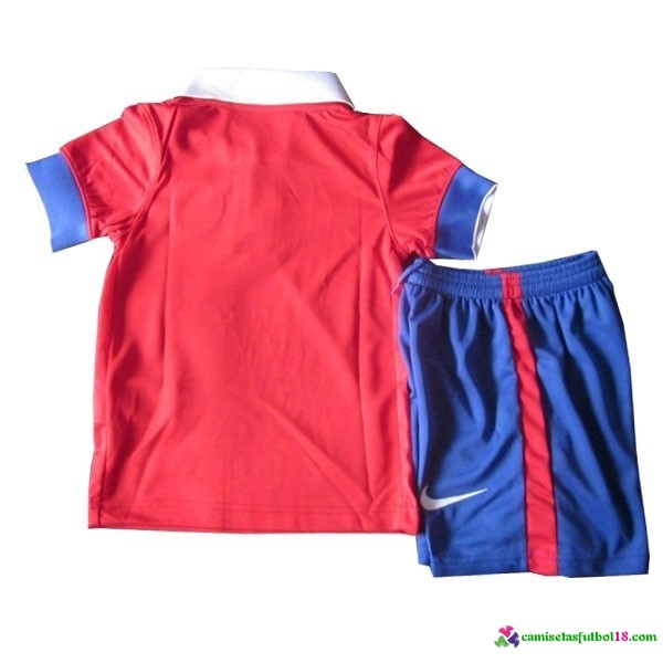 Camiseta 1ª Kit Conjunto Chile Niño 2016
