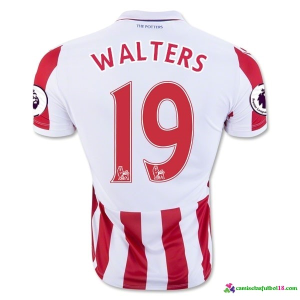 Walters Camiseta 1ª Kit Stoke City 2016 2017