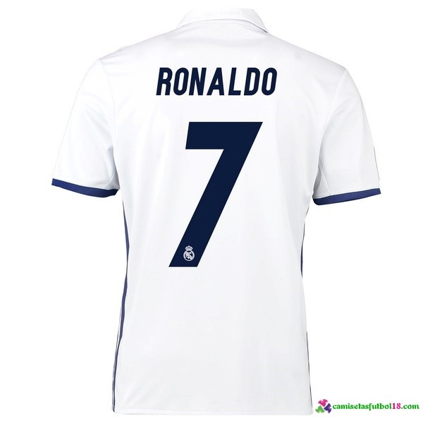Ronaldo Camiseta 1ª Kit Real Madrid 2016 2017