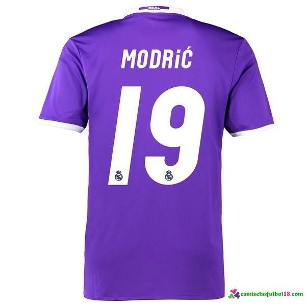 Modric Camiseta 2ª Kit Real Madrid 2016 2017