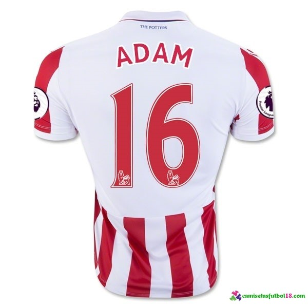 Adam Camiseta 1ª Kit Stoke City 2016 2017
