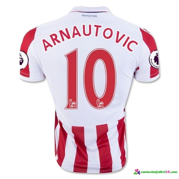 Arnautovic Camiseta 1ª Kit Stoke City 2016 2017