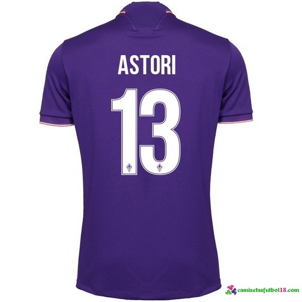 Astori Camiseta 1ª Kit Fiorentina 2016 2017