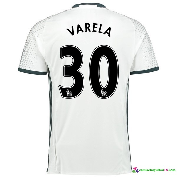 Varela Camiseta 3ª Kit Manchester United 2016 2017