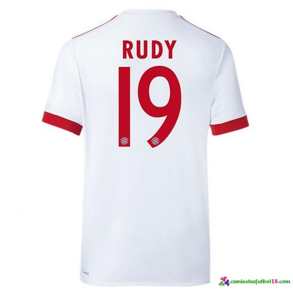Rudy Camiseta 3ª Kit Bayern Munich 2017 2018
