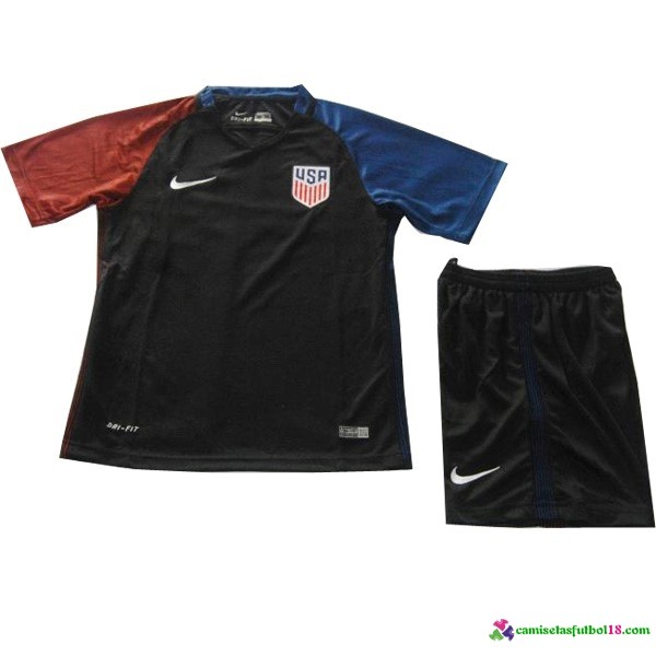 Camiseta 2ª Kit Conjunto USA Niño 2016