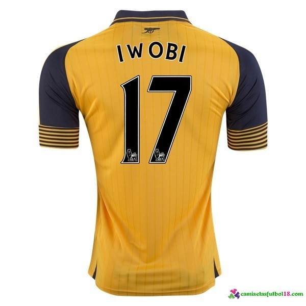 Iwobi Camiseta 2ª Kit Arsenal 2016 2017