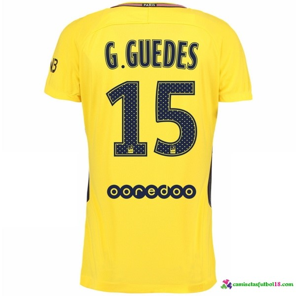 G Guedes Camiseta 2ª Kit Paris Saint Germain 2017 2018
