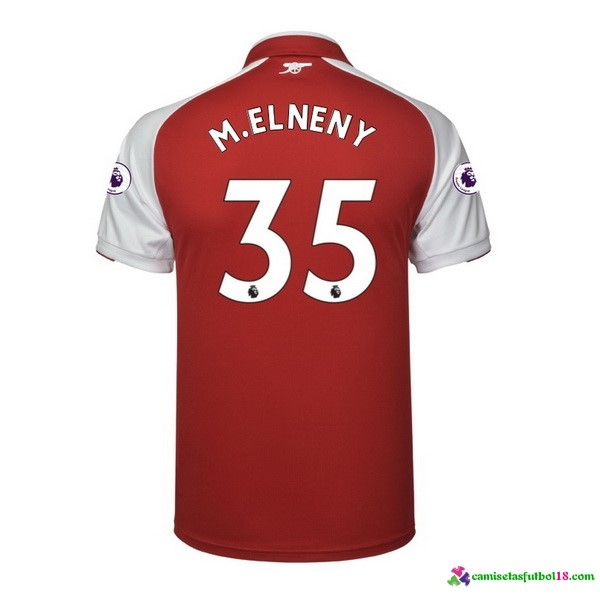 M.Elneny Camiseta 1ª Kit Arsenal 2017 2018