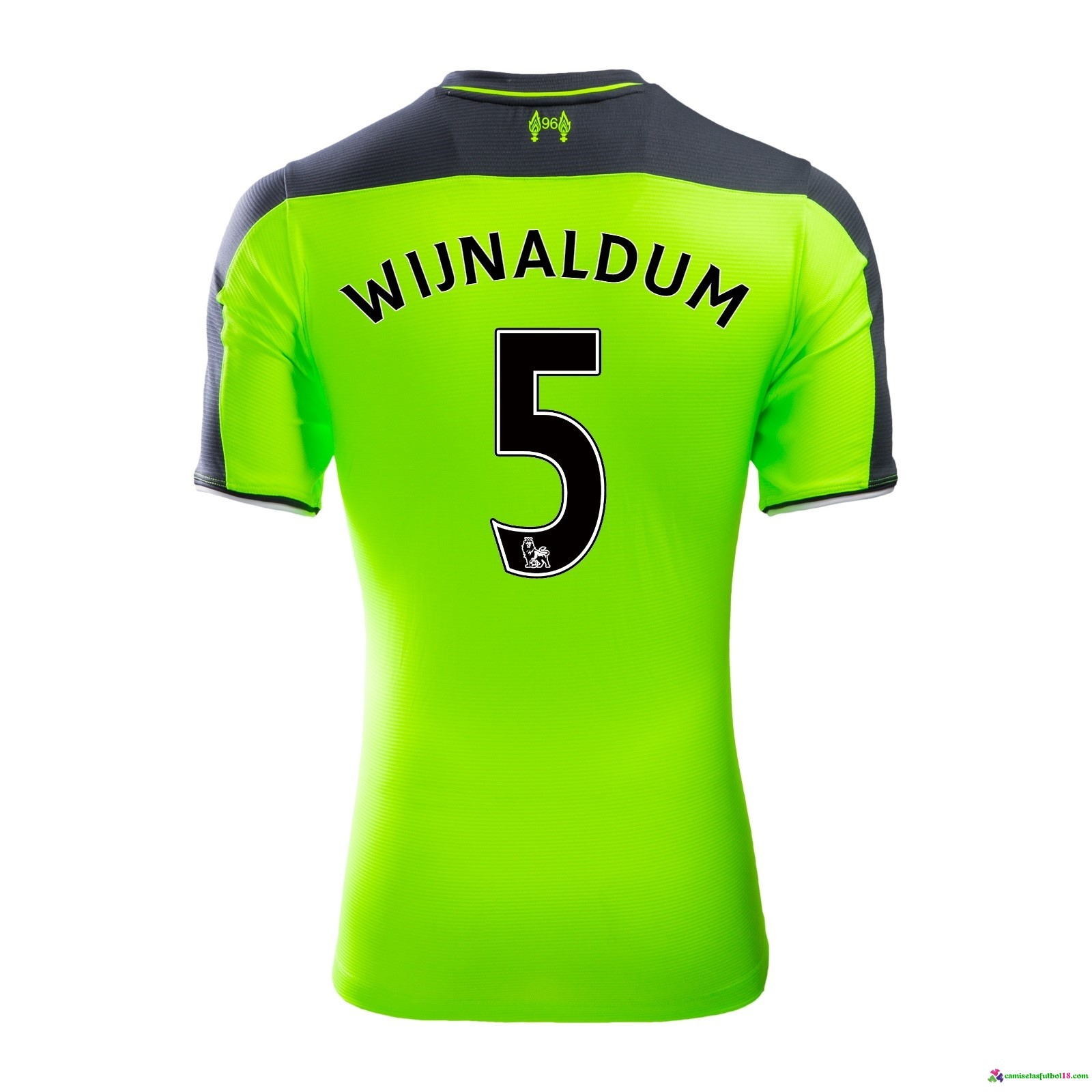 Wijnaldum Camiseta 3ª Kit Liverpool 2016 2017