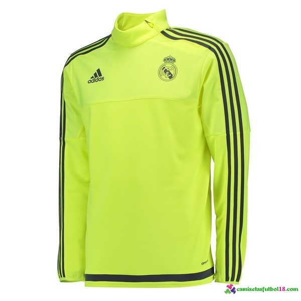 Chaqueta Real Madrid Verde Fluorescente 2016 2017