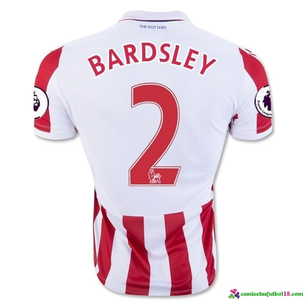 Bardsley Camiseta 1ª Kit Stoke City 2016 2017