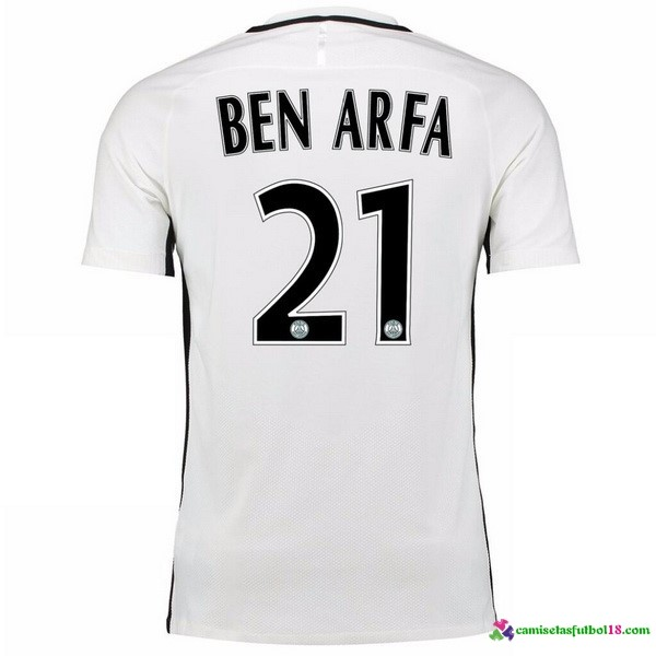 Ben Arfa Camiseta 3ª Kit Paris Saint Germain 2016 2017