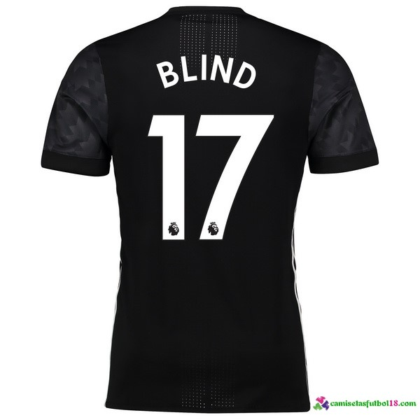 Blind Camiseta 2ª Kit Manchester United 2017 2018