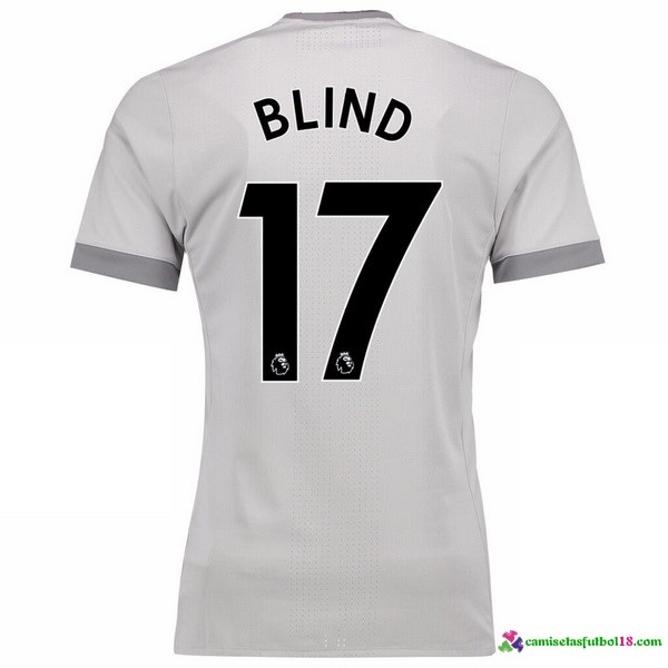 Blind Camiseta 3ª Kit Manchester United 2017 2018