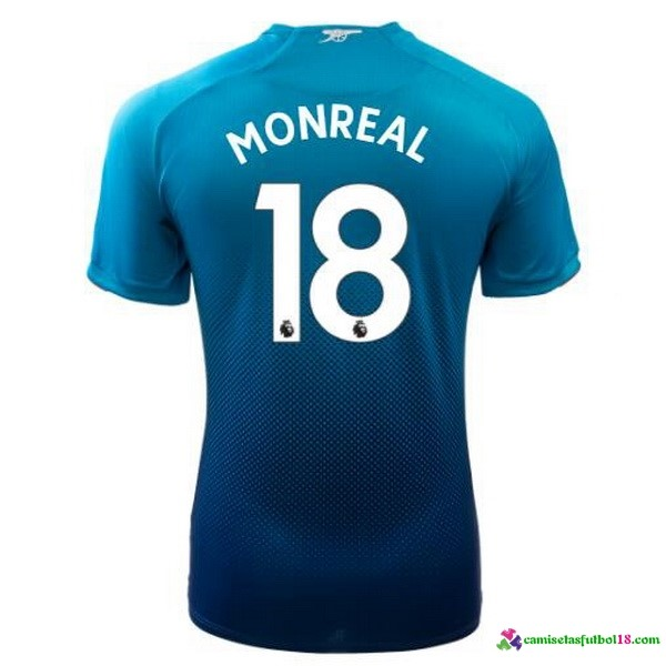 Monreal Camiseta 2ª Kit Arsenal 2017 2018