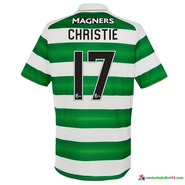 Christie Camiseta 1ª Kit Celtic 2016 2017